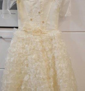 Платье праздничное 122-128