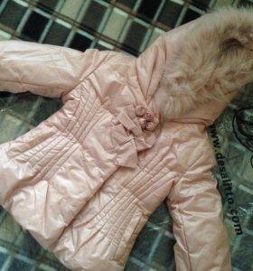 Новая куртка  Desalitto р.116