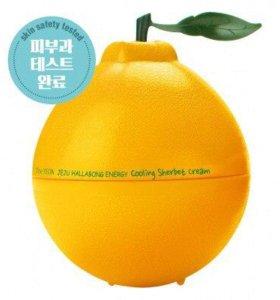 Крем для лица увлажняющий с экстрактом мандарина