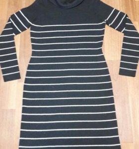 Тёплое платье  р. 46-50