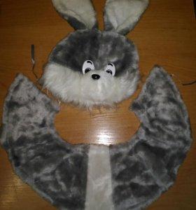 Костюм зайчика 2-6 лет