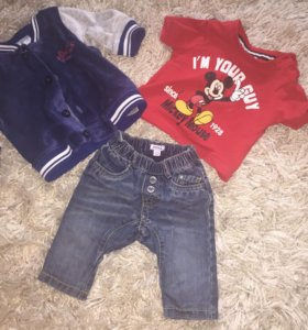 Брендовая одежда от 0 до 6 месяцев