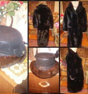 Шуба и шапка