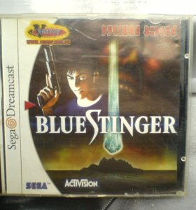 "Sega Dreamcast CD диск с игрой ""Blue Stinger """