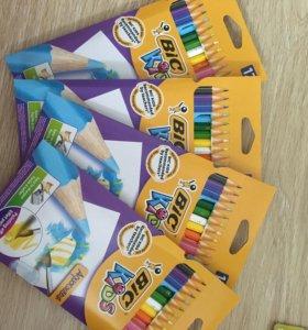 Цветные карандаши Bic