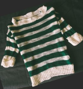 Кофта полосатая / полосатый свитер