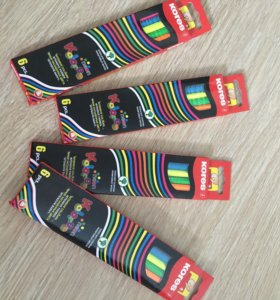 Цветные карандаши kores 6шт