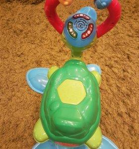 Редкая игрушка черепашка прыгай и качайся