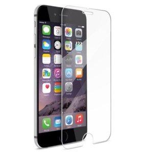 Защитные стекла на iPhone 6+/6s+, 7/7+