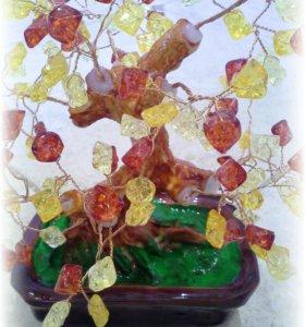 Подарочные янтарное дерево