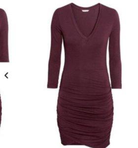 Трикотажное платье, H&M.