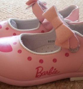 Туфли летние детские для девочек.