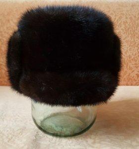 Норковая шапку