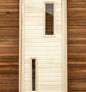 Дверь банная.