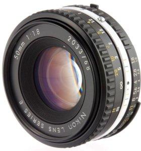 Nikon Series E 50 mm f/ 1.8 ручной