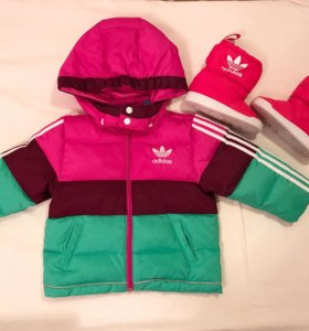 Куртка детская и дутики adidas