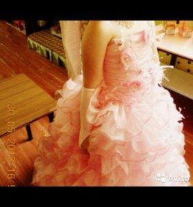 Детское вечерние платье
