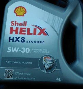 Моторное масло Shell 5w30 синтетическое