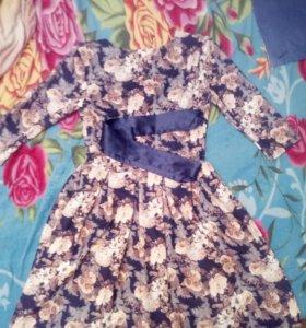Платье один раз одето на новый год !