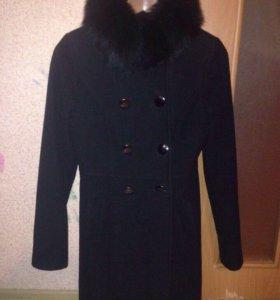 Пальто осеннее тёплое
