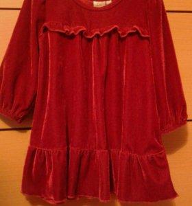 Платье 74 см.
