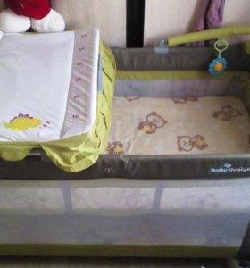 Манеж- Кровать