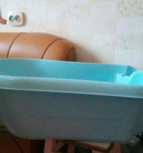 Детская ванночка+горка