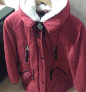 Куртка  Парка Просто даром.