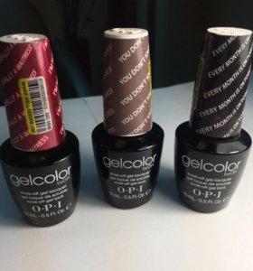 Гель-лак gelcolor фирма OPI