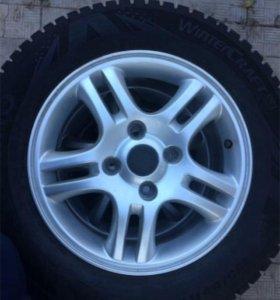 Зимние колёса R15 KUMHO