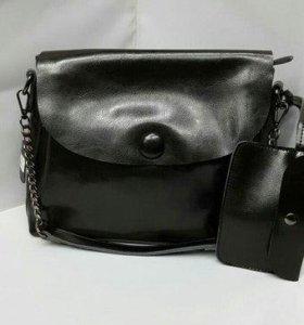 Кожаные сумочки женские