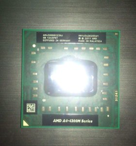 Процессор AMD A4-4300M