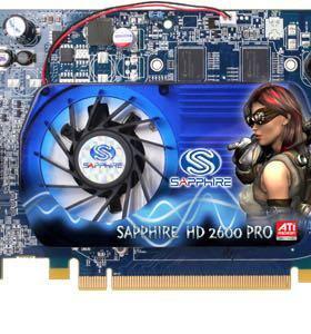 Sapphire HD 2600 PRO 512M DDR2 PCI-E dual DVI-I/TV
