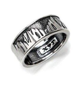 """Серебряное кольцо """"горы"""""""