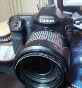 Зеркальный фотоаппарат Canon50D