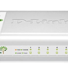 Гигабитный D-Link DGS-1005D