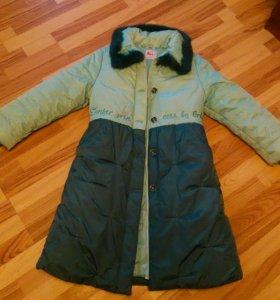 Новая куртка-пуховик!!!