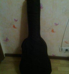 Продаётся НОВАЯ 6-струнная гитара с чехлом