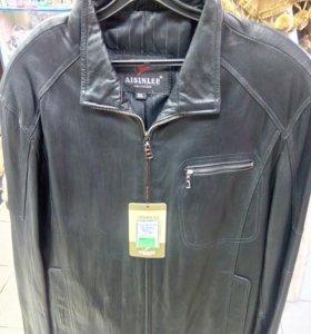 Осенние новые мужские кожаные куртки