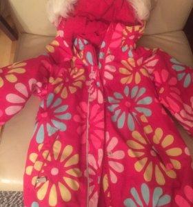 Reima tec зимняя куртка