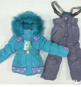 Комбинезон для девочек зима
