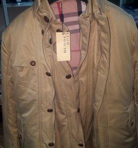 Куртка Burberry теплая
