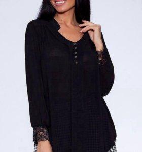 НОВАЯ блузка чёрная