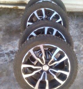 Диски+зимние шины