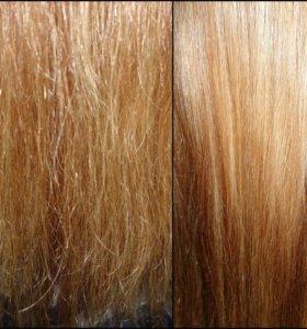 Полировка волос/Стрижка секущихся кончиков
