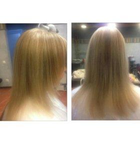 Окрашивания, стрижки лечение волос.