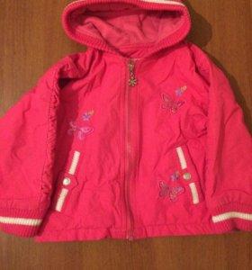 Куртка для девочки 2-4 лет