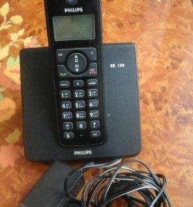 Телефон стационарный с выносной трубкойHitachi