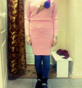 Костюм(юбка,кофта)