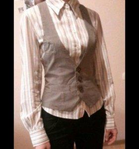Рубашка + жилетка
